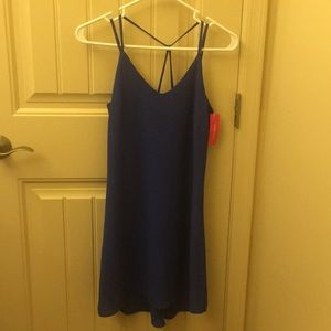 Xhilaration Blue Spaghetti Strap Dress